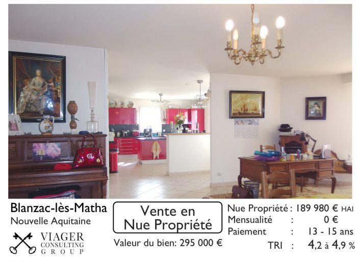 Maison Vente En Nue Propriete Blanzac Les Matha Saint Jean D Angely