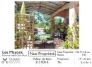 Les Mayons  4 pièces 115 m²  Maison