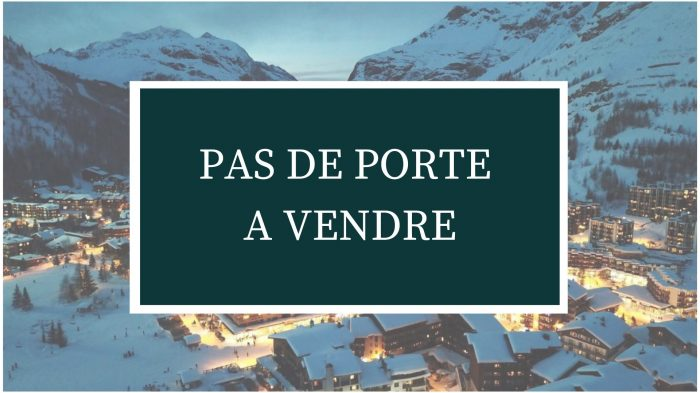 VenteBureau/LocalTIGNES73320SavoieFRANCE