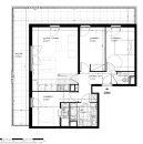 Appartement 76 m² Meudon  4 pièces