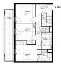 Appartement  Meudon  100 m² 5 pièces
