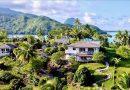 HUAHINE - Propriété exceptionnelle en bord de mer
