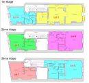 Appartement  Bordeaux Chartrons 2 pièces 53 m²
