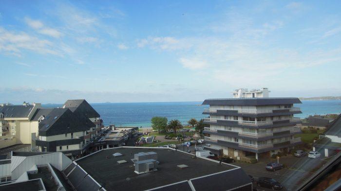 photo de Magnifique vue mer sur la plage de trestraou