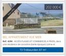 3 pièces  Appartement Trébeurden  87 m²