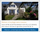 0 m² 6 pièces Pleumeur-Bodou  Maison