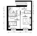 Appartement 66 m² 3 pièces Thonon-les-Bains
