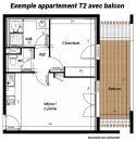 Appartement 40 m² Perpignan  2 pièces