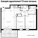 Appartement Perpignan  59 m² 3 pièces