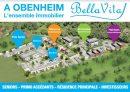 Appartement 46 m² Obenheim  2 pièces