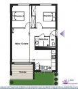 Appartement 64 m² Toulouse  3 pièces