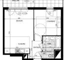 Appartement 42 m² Maurepas  2 pièces