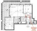 Appartement  Strasbourg Presqu'île Malraux 3 pièces 63 m²