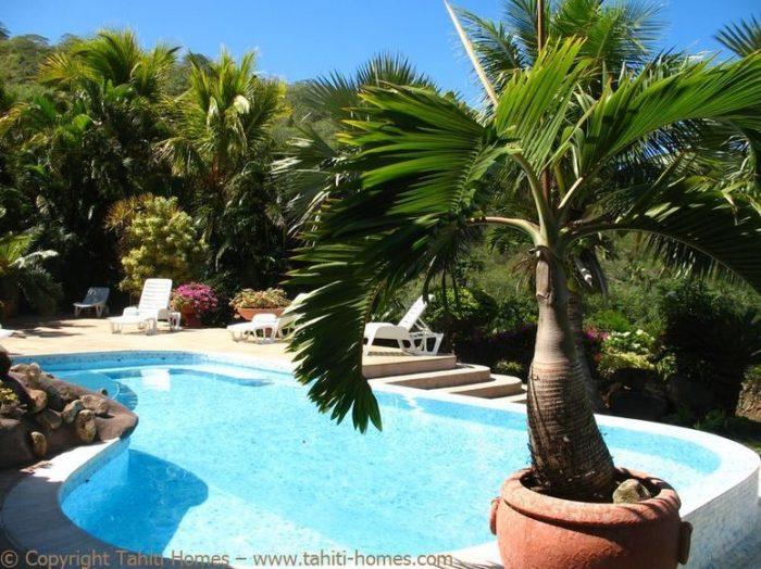 Photo Villa méditerranéenne avec piscine et vue lagon image 7/9