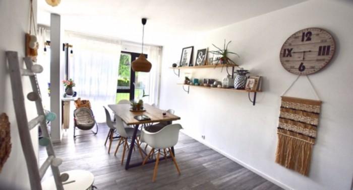Appartement 4 pièces avec balcon filant
