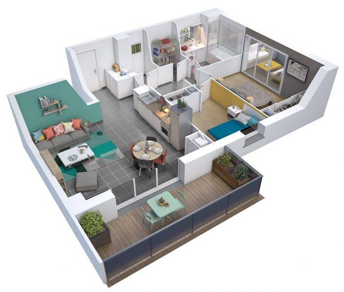 Photo Appartement T3 à Escalquens image 2/2