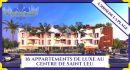 Saint-Leu OUEST 39 m² 2 pièces  Appartement
