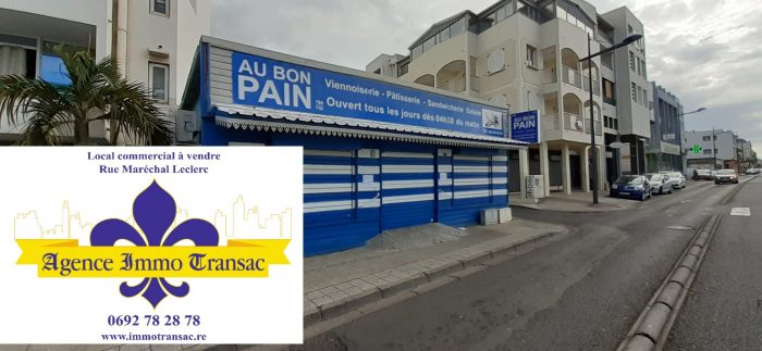 Vente Commerce SAINT-DENIS 97400 La Réunion FRANCE