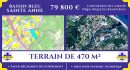 Terrain 320 m² Sainte-Anne EST  pièces