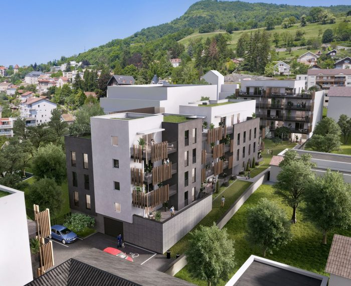 Appartrement T2 neuf a voiron 43,9M²