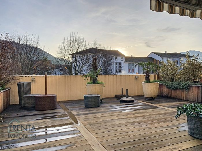 Appartement 65m² avec grande terrasse