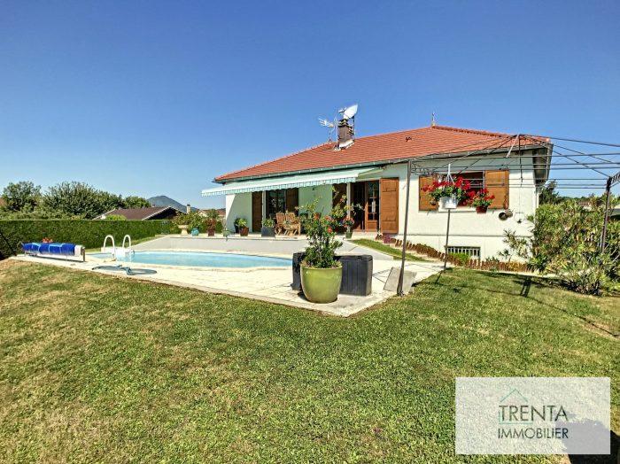 Magnifique maison de 125 m² avec piscine et un grand terrain de 810 M²