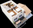 Maison 82 m² Estézargues  4 pièces
