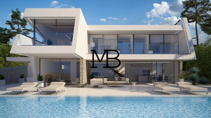 Villa Moderne superbe villa moderne en vente à moraira