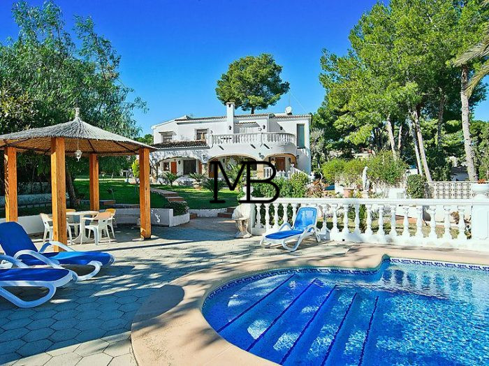 Ref:V00432DM-DOMUSMORAIRA Villa For Sale in Moraira