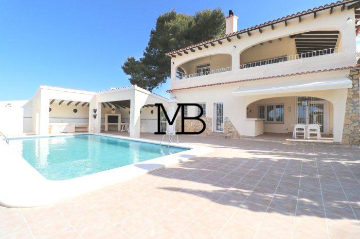Ref:V00446DM-DOMUSMORAIRA Villa For Sale in Moraira