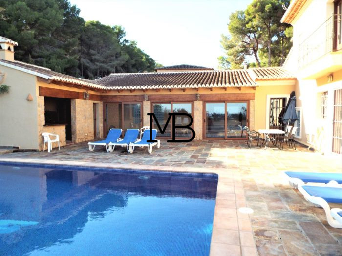 Ref:V00450DM-DOMUSMORAIRA Villa For Sale in MORAIRA