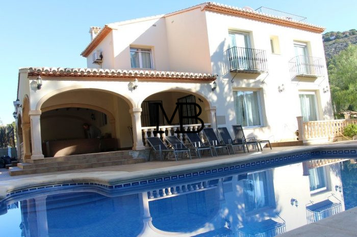Ref:V00517DM-DOMUSMORAIRA Villa For Sale in Moraira