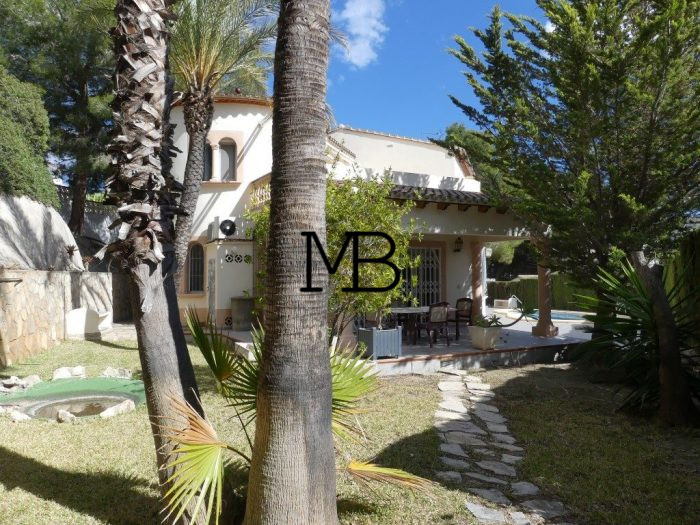 Ref:V00524DM-DOMUSMORAIRA Villa For Sale in Moraira