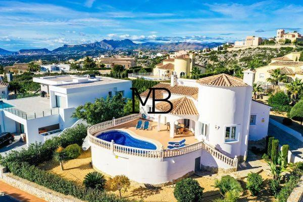 Ref:V00546DM-DOMUSMORAIRA Villa For Sale in benitachell