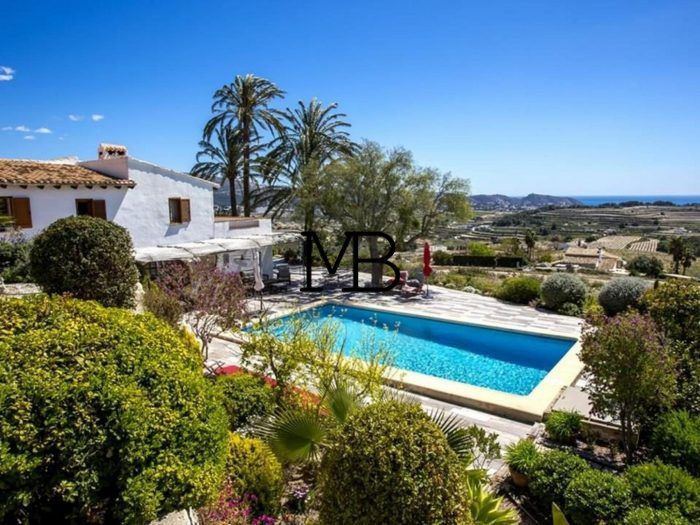 Ref:V00547DM-DOMUSMORAIRA Villa For Sale in Moraira