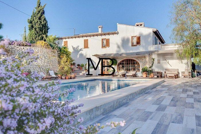 Ref:V00547DM-DOMUSMORAIRA Villa For Sale in Moraira