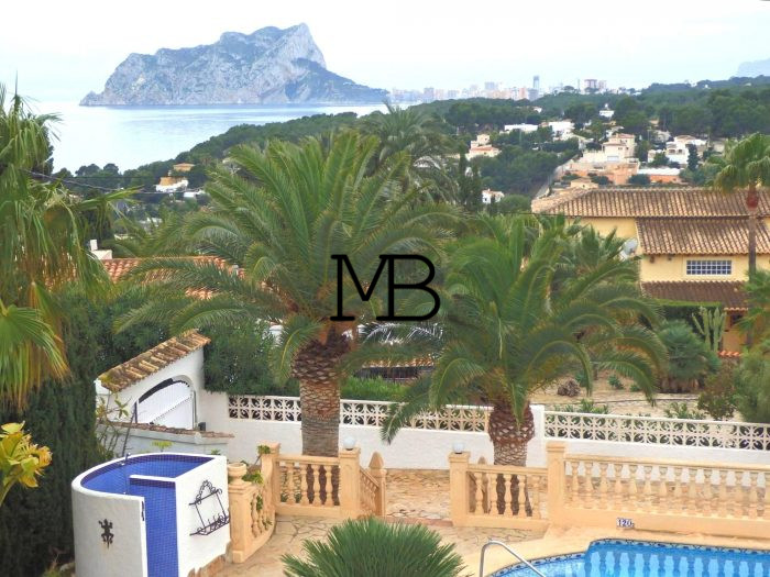 Ref:V00548DM-DOMUSMORAIRA Villa For Sale in Moraira