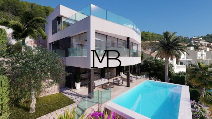 Ref:V00550DM-DOMUSMORAIRA Villa For Sale in Calpe