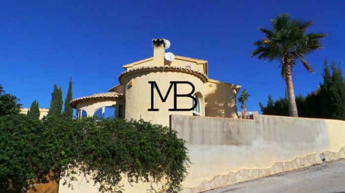 Ref:V00556DM-DOMUSMORAIRA Villa For Sale in Benitachell