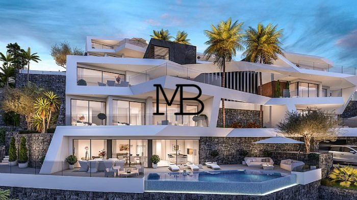 Ref:V00584DM-DOMUSMORAIRA Villa For Sale in Altea