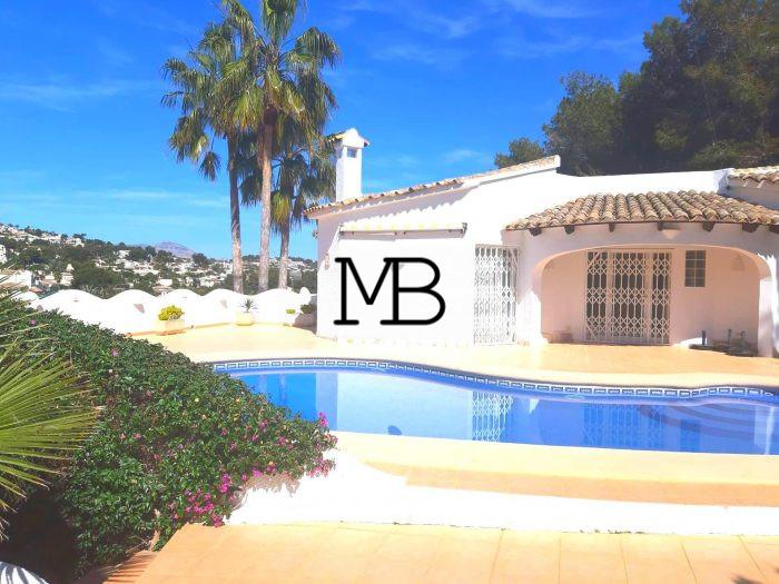Ref:V00585DM-DOMUSMORAIRA Villa For Sale in Moraira