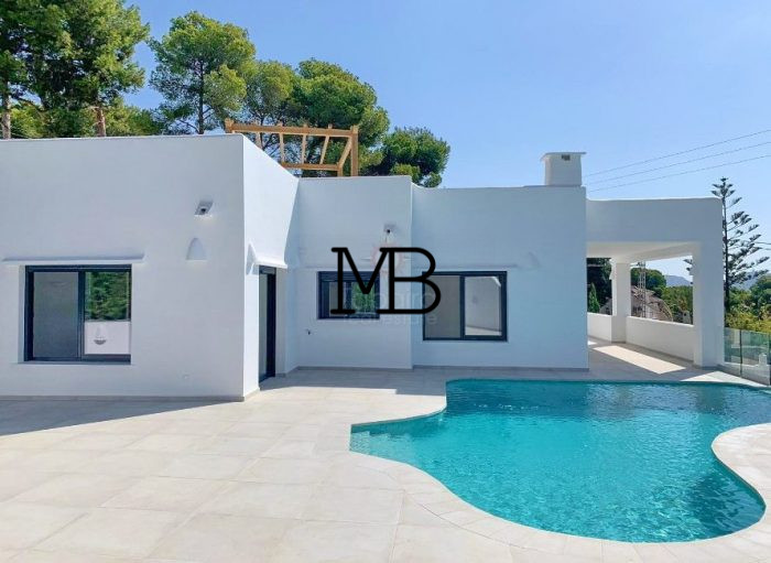 Ref:V00594DM-DOMUSMORAIRA Villa For Sale in Moraira