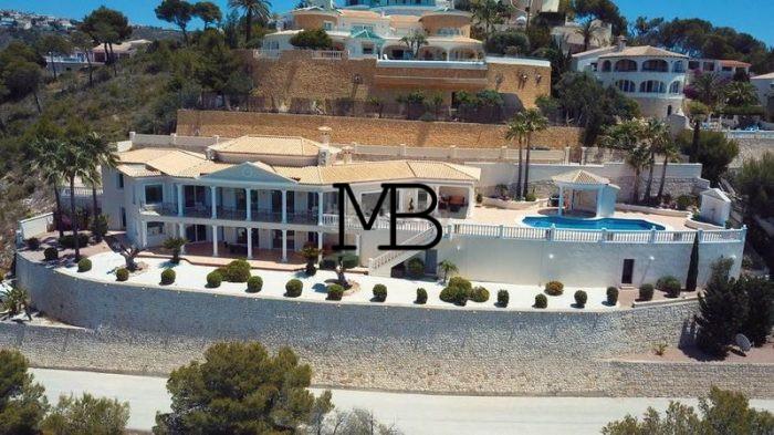 Ref:V00599DM-DOMUSMORAIRA Villa For Sale in MORAIRA