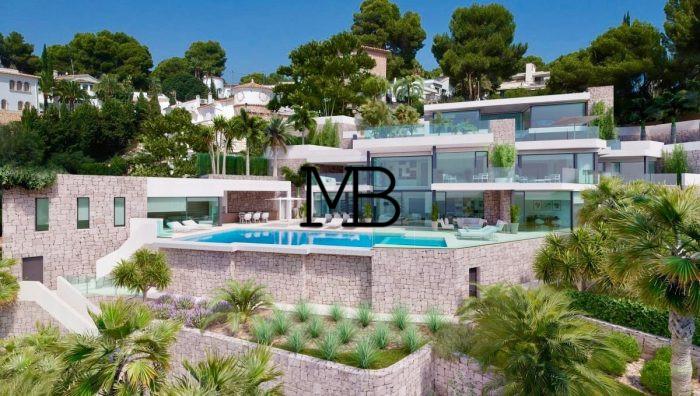 Ref:V00622DM-DOMUSMORAIRA Villa For Sale in Moraira