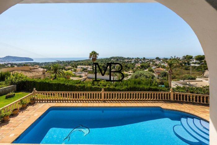 Ref:V00723DM-DOMUSMORAIRA Villa For Sale in Moraira,Moraira