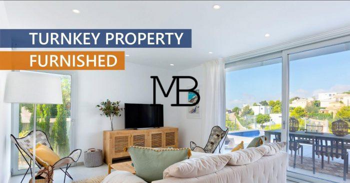 Ref:V00739DM-DOMUSMORAIRA Villa For Sale in Benitachell