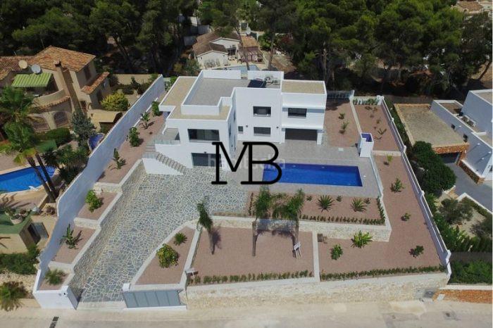 Ref:V00749DM-DOMUSMORAIRA Villa For Sale in Moraira,Moraira