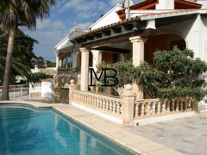 Ref:V00042DM-DOMUSMORAIRA Villa For Sale in Moraira