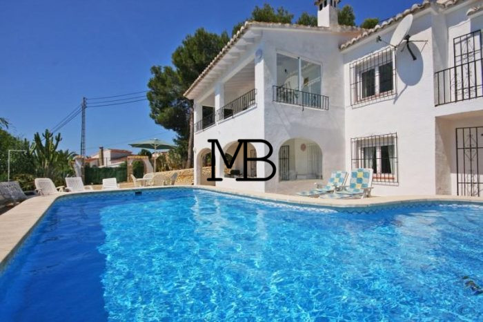 Ref:V00318DM-DOMUSMORAIRA Villa For Sale in Moraira