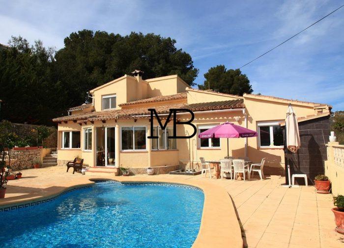 Ref:V00324DM-DOMUSMORAIRA Villa For Sale in moraira
